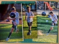 Ayden soccer collage